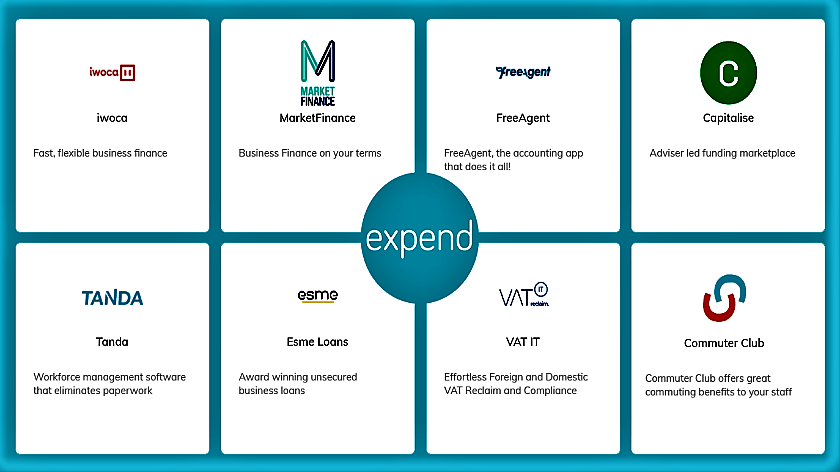 Expend marketplace logo