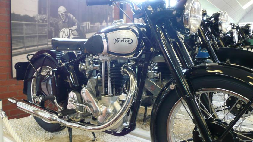 Norton ES2 motorcycle 1949 at the National Motorcycle Museum