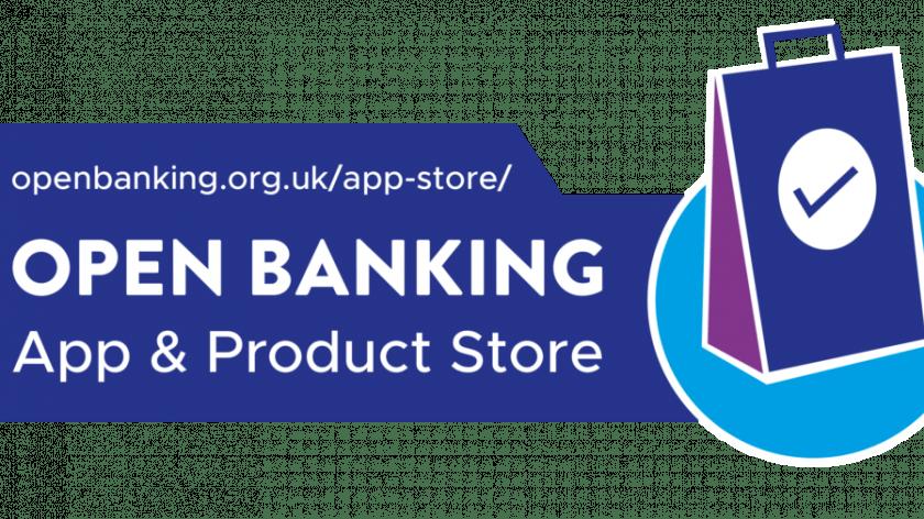 Open Banking app store logo.