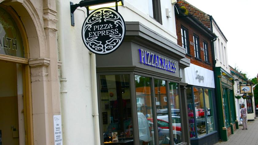 PIzza Express restaurant in Northallerton.