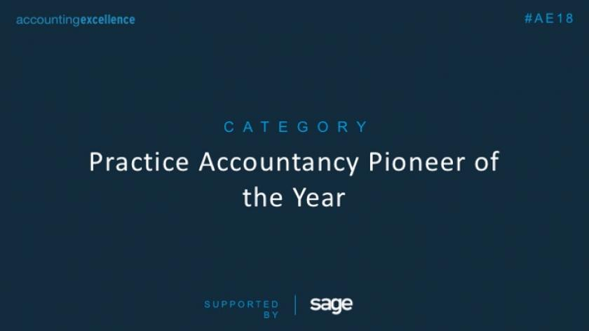 AE Awards 2018: Practice Accountancy Pioneer of the Year
