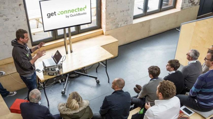 Image of learning session at QuickBooks Get Connected