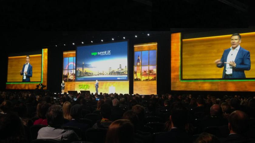 Nick Goode at Sage Summit UK 2017
