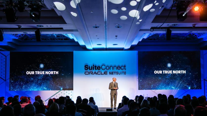 NetSuite VP Evan Goldberg at SuiteConnect