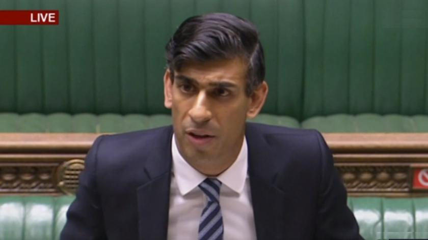 Rishi Sunak presents his updated job support plans to Parliament