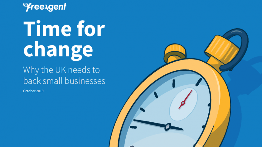 FreeAgent's Time for Change survey