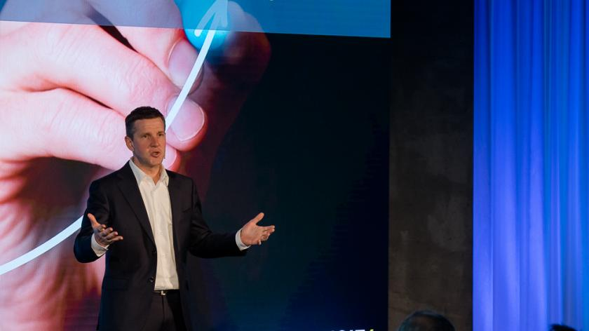 Stephan Sieber at Unit4 Connect Conference