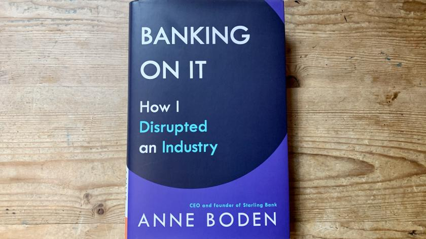 Front cover of BANKING ON IT: How I Disrupted an Industry by Anne Boden