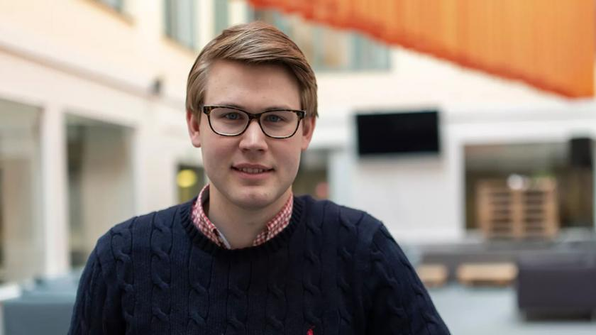 Bokio co-founder Viktor Stensson: bringing free accounting to the UK