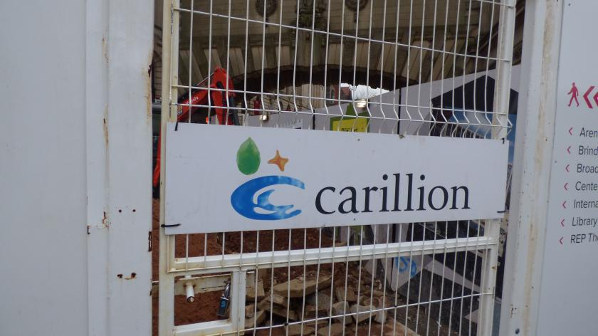 Carillion in trouble