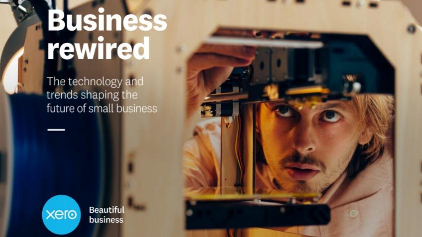 Cover of Xero Business Rewired report