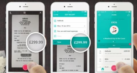 A new app by Receipt Bank