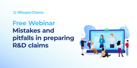 Webinar on mistakes when preparing R&D tax relief claims