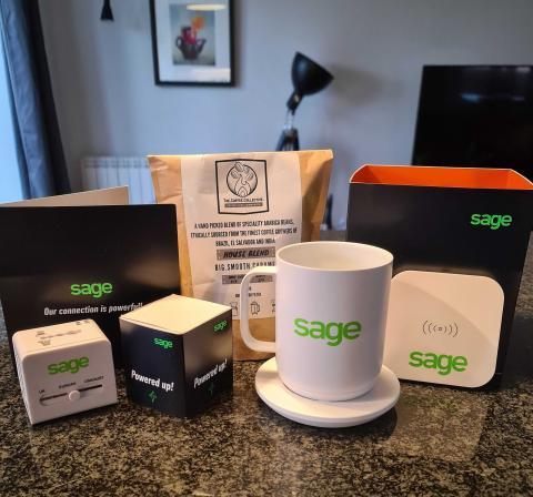 Image showing Sage swag