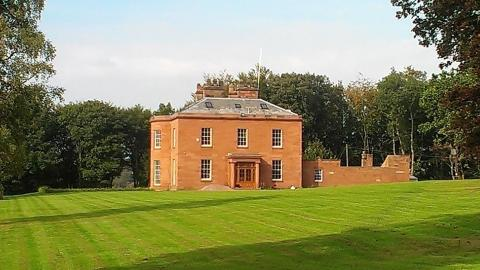 45 acre estate in Scotland being refurbished by Steven Day