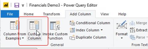 Custom column