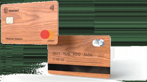 TreeCard Ecosia payment card