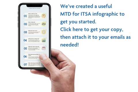 Get the MTD for ITSA infographic