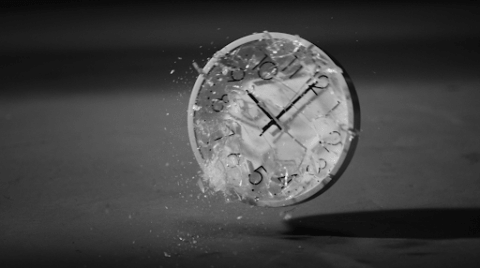 Clock smashing