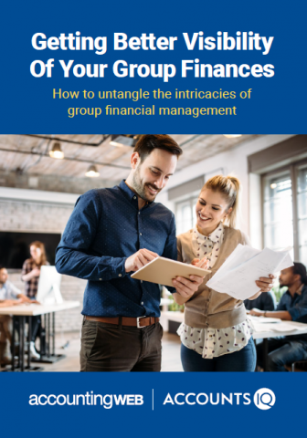 AccountsIQ group finances