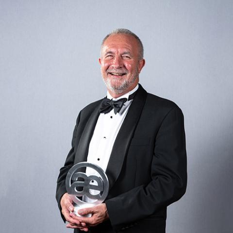 Ian Katté CFO Co-Founder BTCSoftware Accounts Production Award