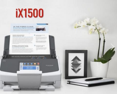 Fujitsu ix1500 scanner