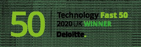 Fast 50 2020 Winner logo