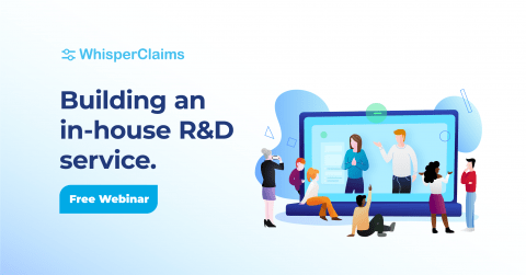 Building an in-house R&D tax service webinar by WhisperClaims