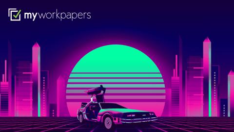 Back To The Future Dolorean