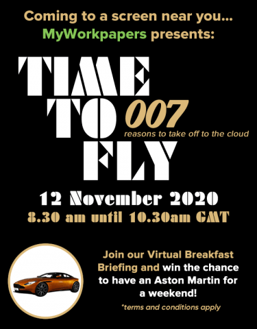 Time to Fly – 007 reasons to take off the cloud
