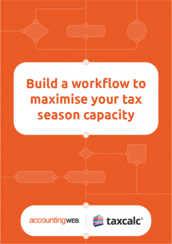AccountingWEB, TaxCalc, practice workflow guide