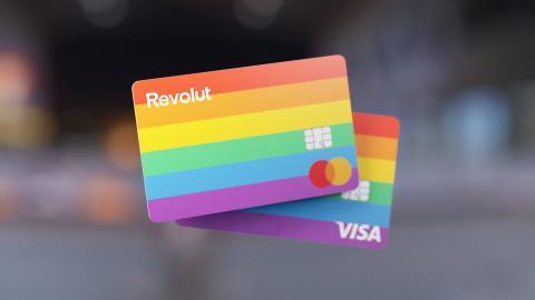 Revolut Pride card
