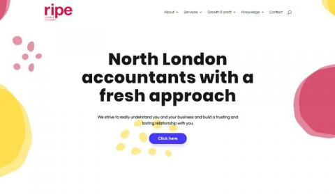Ripe accountants website after