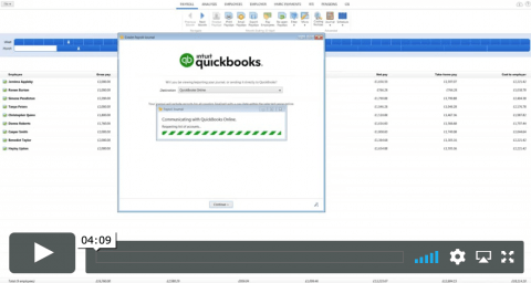 Quickbooks and BrightPay
