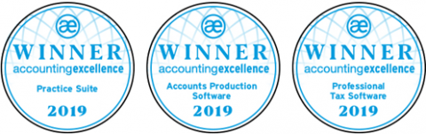 Award Winning Software 2019 Practice Suite Accounts Production Self Assessment Corporation Tax