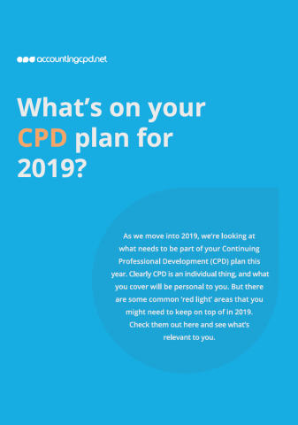 CPD plan cover