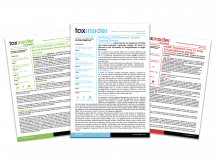 Tax Insider newsletters