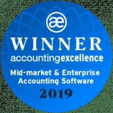 Accounting Excellence award winner AccountsIQ