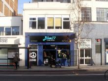 Original photo of Blue17 shop exterior