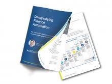 Demystiyfing finance automation report