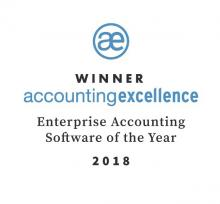 accounting excellence award winner logo