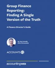 AccountsIQ Group Finance Report