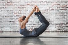 bendy yoga lady