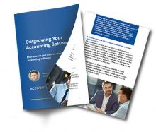 Outgrowing your accounting software guide