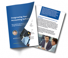 Outgrown your Accounting Software