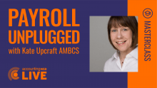 Payroll Unplugged with Kate Upcraft AMBCS