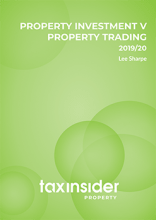 Property Investment V Property Trading