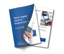 Digital Quick Wins report form AccountsIQ