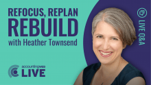Refocus, Replan, Rebuild with Heather Townsend