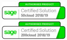 PaperLess Document Management is an authorised product for Sage 50cloud and Sage 200cloud making it the preferred choice of Sage users to automate invoice processing and scanning routines.